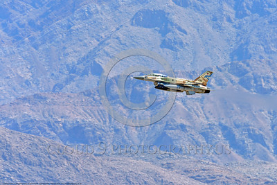 F-16-Israeli 0058 A flying Lockheed Martin F-16 Fighting Falcon Israeli Air Force 432 jet fighter during a Nellis AFB 8-2016 Red Flag exercise military airplane picture by Peter J  Mancus
