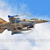 F-16-Israeli 0048 A flying Lockheed Martin F-16 Fighting Falcon Israeli Air Force 896 jet fighter with bombs during a Nellis AFB 8-2016 Red Flag exercise military airplane picture by Peter J  Mancus