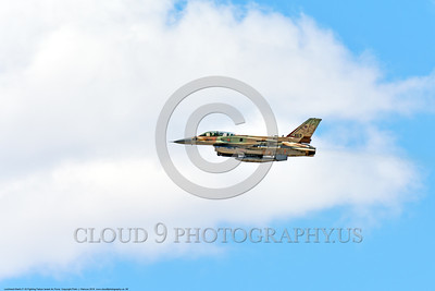 F-16-Israeli 0060 A flying Lockheed Martin F-16 Fighting Falcon Israeli Air Force 469 jet fighter during a Nellis AFB 8-2016 Red Flag exercise military airplane picture by Peter J  Mancus