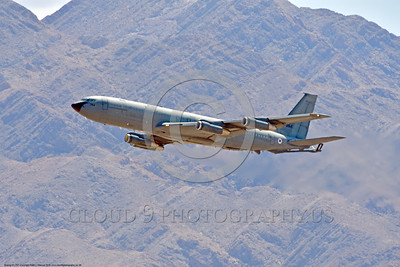 KC-707-Israeli 0008 A Boeing KC-707 Israeli Air Force 264 climbing out after take-off during a Nellis AFB Red Flag exercise 8-2016 military airplane picture by Peter J  Mancus