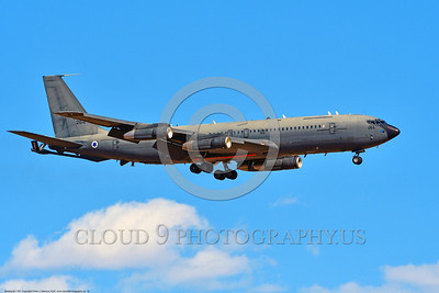 KC-707-Israeli 0014 A landing Boeing KC-707 Israeli Air Force 264 during a Nellis AFB Red Flag exercise 8-2016 military airplane picture by Peter J  Mancus