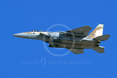 F-15Forg 00062 A flying two seat Israeli Air Force McDonnell Douglas F-15 Eagle jet fighter 269 9-2002, airplane picture, by Michael Grove, Sr