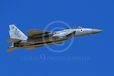 F-15Forg 00058 A flying two seat Israeli Air Force McDonnell Douglas F-15 Eagle jet fighter 701 9-2002, airplane picture, by Michael Grove, Sr