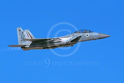 F-15Forg 00036 A flying two seat Israeli Air Force McDonnell Douglas F-15 Eagle jet fighter 715 9-2002, airplane picture, by Michael Grove, Sr