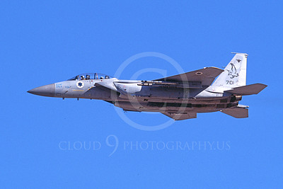 F-15Forg 00060 A flying two seat Israeli Air Force McDonnell Douglas F-15 Eagle jet fighter 701 9-2002, airplane picture, by Michael Grove, Sr