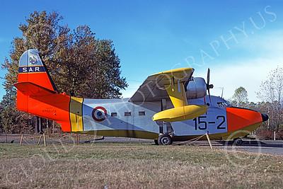 HU-16Forg 00019 A static Grumman HU-16A Albatross Italian Air Force 11-1979 military airplane picture by Richard Folsom