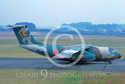 C-1A 00001 Kawasaki C-1A JMSDF 1986 via AASS