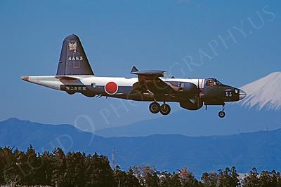 P-2Forg 00002 Kawasaki P-2J Neptune JSDF NAF Atsugi 10 November 1975 by Matsumi Wada