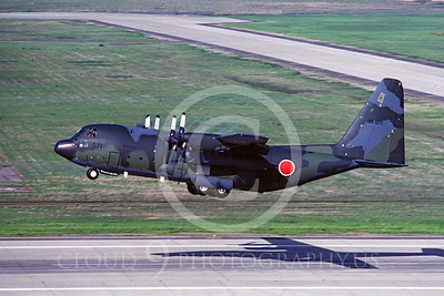 C-130Forg 00020 Lockheed C-130 Hercules Japanese Self Defense Force 10 March 1984 by Carl E Porter