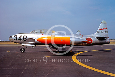 T-33Forg 00015 Lockheed T-33 Shooting Star Japanese May 1971 by Akira Watanabe