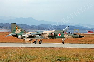Mitsubishi F-1 00003 Mitsubishi F-1 JASDF 10-8254 16 November 1981 via African Aviation Slide Service