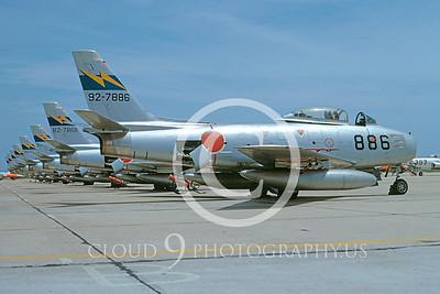 F-86Forg 000021 North American F-86F Sabre Japanese 8 May 1974 by Hideki Nagakubo via AASS