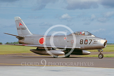 F-86Forg 00009 North American F-86F Sabre Japanese 9 Sept 1979 Musawa by Hideki Nakagubo