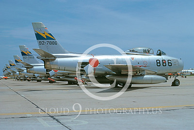 F-86Forg 000021 North American F-86F Sabre Japanese 8 May 1974 by Hideki Nagakubo via AASS