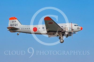 C-47Forg 00004 Douglas R4D-6 Skytrain JMSDF 24 November 1971 NAF Atsugi by Matsumi Wada