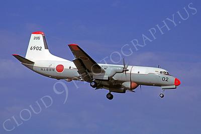 NAMC YS-IIT 00002 NAMC YS-IIT JMSDF 23 June 1975 by Masumi Wada
