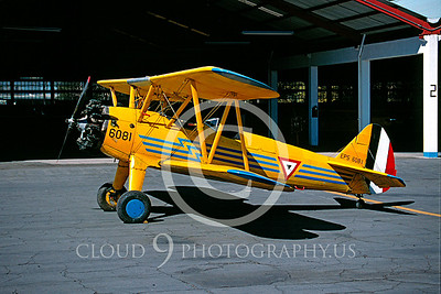 Boeing Stearman Model 75 PT-27 00001 Mexican Air Force Feb 2000 via AASS