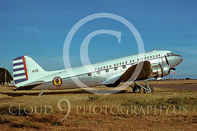 C-47Forg 00021 Douglas C-47 Nicaragua Air Force February 1978 via African Aviation Slide Service