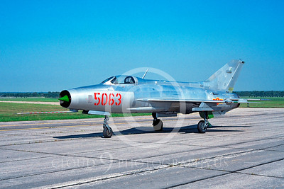 Mikoyan-Guryevich MiG-21 00015 Mikoyan-Guryevich MiG-21 North Vietnamese Air Force by David W Menard