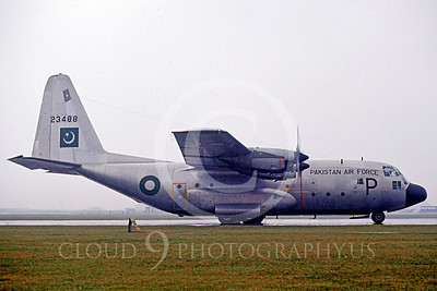 C-130Forg 00101 Lockheed C-130 Hercules Pakistan Air Force 23488 by Peter J Mancus