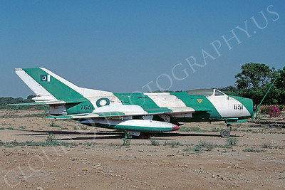 Shenyang F-6 Farmer 00003 Shenyang F-6 Farmer Pakistan Air Force 7631 March 2007 via African Aviation Slide Service