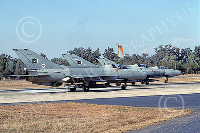 Chengdu F-7 00014 A taxing Chengdu F-7 Pakistani Air Force 8-2002 military airplane picture by Rogier Westerhuis