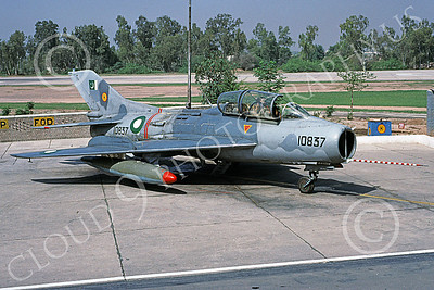 Shenyang F-6 00013 A static Shenyang F-6 (MiG-19) Pakistani Air Force 10837 5-2001 military airplane picture by Keith Woods