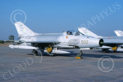 Chengdu F-7 00011 A static Chengdu F-7 Pakistani Air Force 8-2002 military airplane picture by Rogier Westerhuis