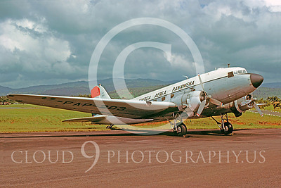C-47Forg 00009 Douglas C-47 Skytrain Panamanian Air Force November 1983 via African Aviation Slide Service