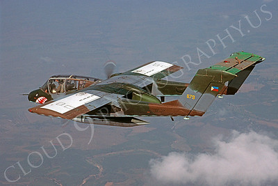 OV-10Forg 00002 North American OV-10 Bronco Philippine Air Foce 679 SHARKMOUTH via African Aviation Slide Service