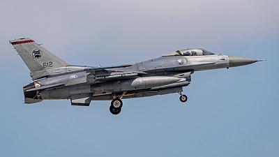 REPUBLIC OF SINGAPORE AIRFORCE_F-16C_612_BRW