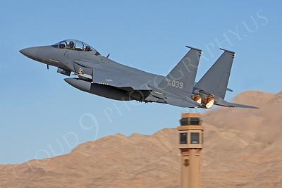 F-15FORG 00008 McDonnell Douglas F-15K Strike Eagle Republic of Korea Air Force 02039 Nellis AFB by Peter J Mancus