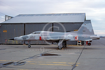 F-5Forg 00065 Northrop F-5F Freedom Fighter Republic of Korea Air Force 830 McClellan AFB 1982 by Peter B Lewis