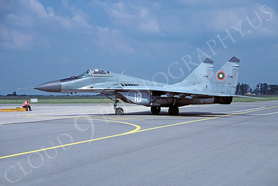 Mikoyan-Guryevich MiG-29 Fulcrum 00033 Mikoyan-Guryevich MiG-29 Fulcrum Romanian Air Force via African Aviation Slide Service