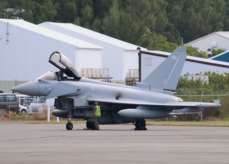 Eurofighter Typhoon FGR4 [ZK354]