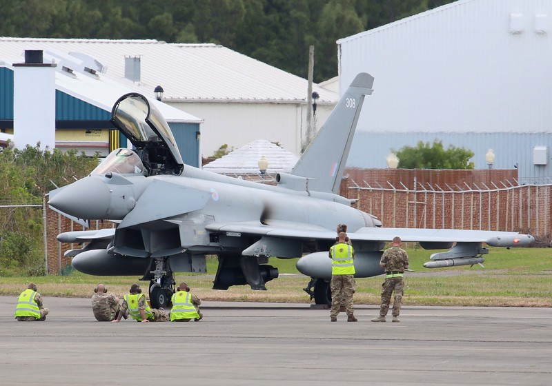 Eurofighter Typhoon FGR4 [ZK308]