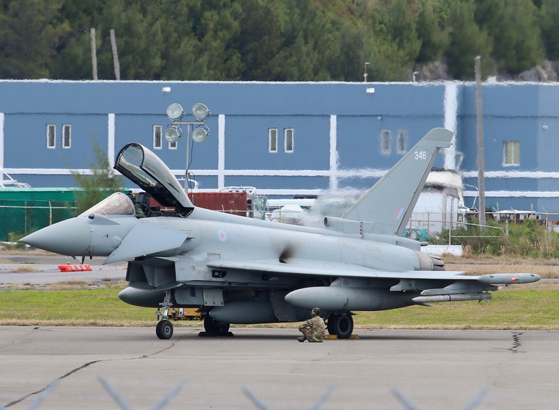 Eurofighter Typhoon FGR4 [ZK346]