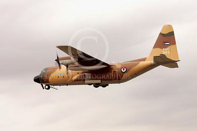 C-130Forg 00062 Lockheed C-130 Hercules Jordanian Air Force by Paul Ridgway