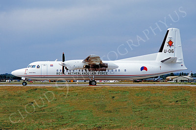 Fokker F27 Friendship 00005 Fokker F27 Friendship Royal Netherlands Air Force by Stephen W D Wolf