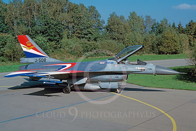 F16FORG 00013 Lockheed Marting F-16 Duth Air Force J-508 September 1998 via African Aviation Slide Service
