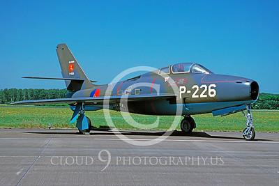 F-84FForg 00001 Republic F-84F Thunderstreak Dutch Air Force June 1995 via AASS