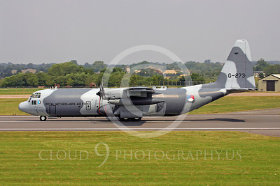 C-130Forg 00099 Lockheed C-130 Hercules Royal Netherlands Air Force G-273 by Paul Ridgway