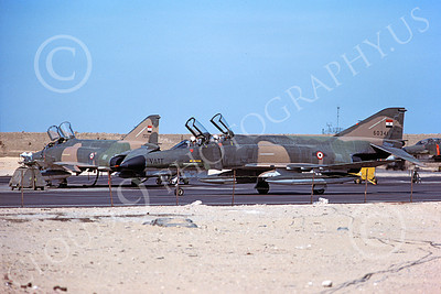 F-4Forg 00148 McDonnell Douglas F-4E Phantom II Saudi Air Force 60341 12-1980 military airplane picture by Mike Campbell