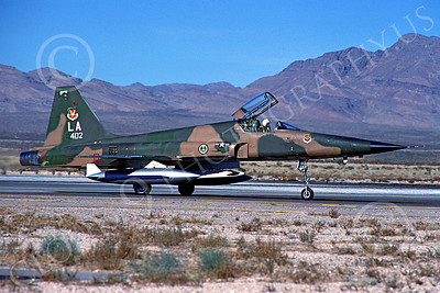 F-5Forg 00043 Northrop F-5E Freedom Fighter Saudi Air Force Nellis AFB Nov 1980 by Peter J Mancus