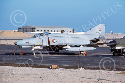 F-4Forg 00147 McDonnell Douglas F-4E Phantom II Saudi Air Force 70307 11-1980 military airplane picture by Mike Campbell