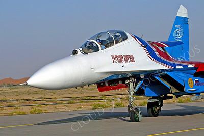 CUNMJ 00145 Sukhoi SU-27 Russian Air Force by Paul Ridgway