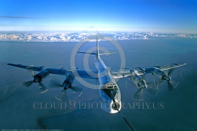 Tu -95 0001 An impressive frontal aerial refueling view of a Soviet Air Force Tupolev Tu-95 Bear strategic bomber military airplane picture by A  A  Baitov  DONEwt