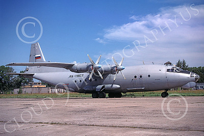 An-12 00007 A static Antonov An-12 Cub Russian Air Force transport 8-2009 military airplane picture by Steve Graf