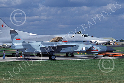 YAK-141 00001 A towed YAK-141 Freestyle VTOL military aircraft Russian Air Force 9-1992 military airplane picture by Richard Naber