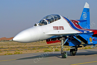 CUNMJ 00145 Sukhoi SU-27 Russian Air Force by Paul Ridgway